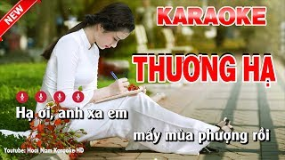 Karaoke Hạ Thương - ha thuong karaoke nhac song