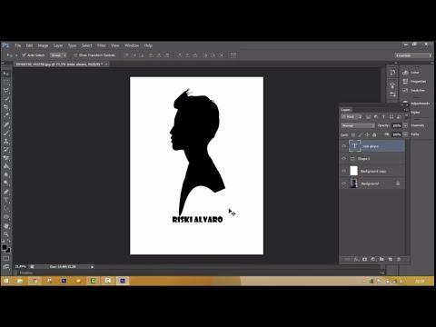 Download tutorial membuat siluet menggunakan photoshop dengan mudah