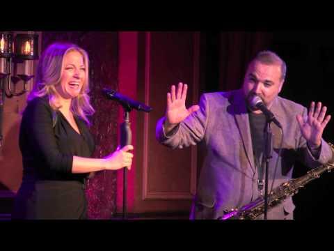 Donna Vivino & Jerry Vivino at 54 Below 1/16/15