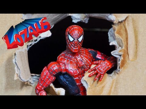 SPIDERMAN STOP MOTION Action Video Part 16 Trailer