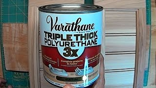 Download lagu Varathane Satin Triple Thick Polyurethane product review