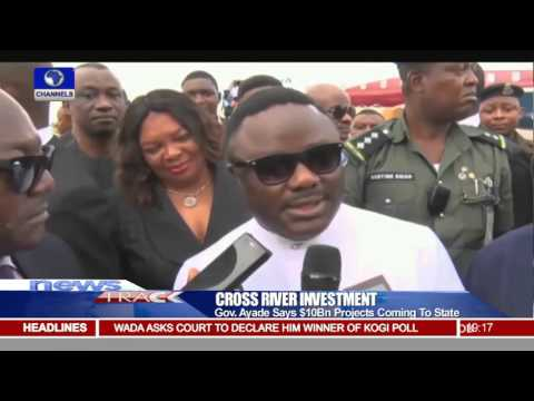 Governor Ayade Promises More Investments In Cross River State