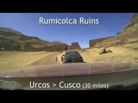 Peru/Chile Drive-lapse - June 2016 Road Trip Driving Route Brinno time-lapse