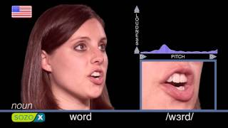 How To Pronounce WORD - Learning English Pronunciation 英語の発音