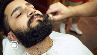 Square Beard Trim at the Barbershop thumbnail