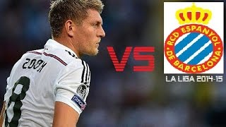 toni kroos vs espanyol   real madrid vs espanyol 3 0   la liga 2014 15 h
