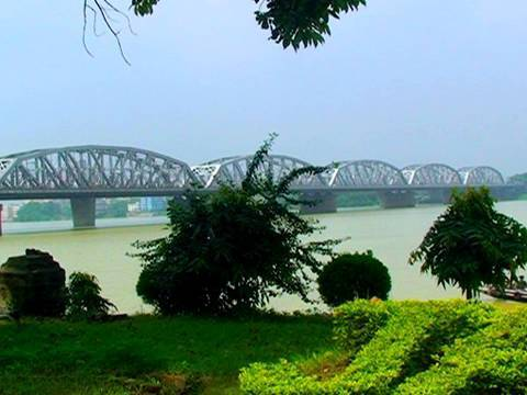 Bally Bridge- Vivekananda Setu  Calcutta  Kolkata  West Bengal
