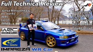 How a Japanese guy made a Real Subaru WR Car Road Legal in Japan | Colin McRae Drove this | not 22B