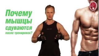 Почему объём мышцы уменьшаются после тренировоки  Владимир Молодов