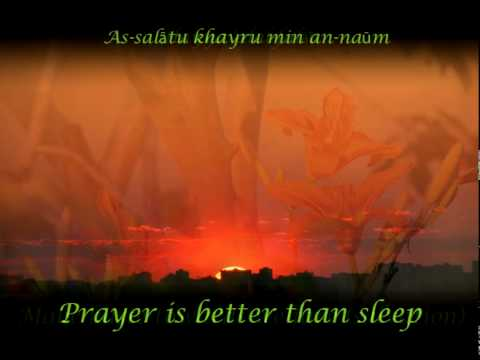 Islamic Call to Prayer (english translation-subtitles)