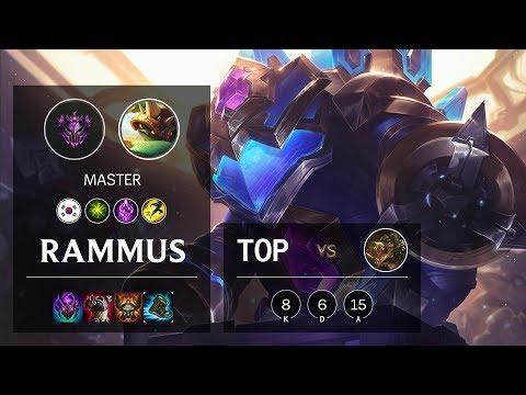 Rammus Top vs Renekton - KR Master Patch 10.12