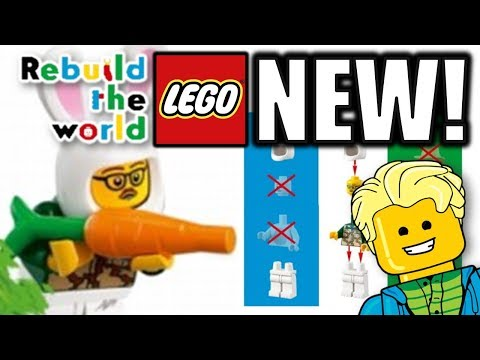 What is LEGO Rebuild the World? & A NEW EXCLUSIVE MINIFIGURE!