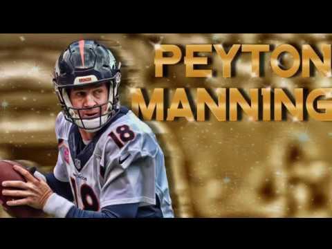 """Peyton Manning Tribute """"G.O.A.T"""""""