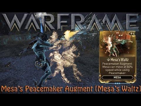 Warframe - Mesa's Peacemaker Augment [Mesa's Waltz]