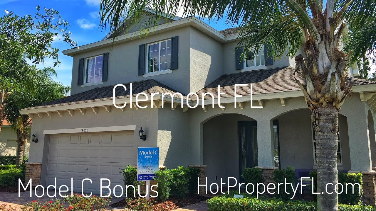Model C Bonus | 2 Master Bedrooms | New Homes Clermont FL | Home Dynamics