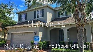 Model C Bonus  2 Master Bedrooms  New Homes Clermont FL  Home Dynamics
