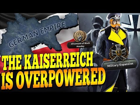 GERMANY IS DEFINITELY A BALANCED COUNTRY IN KAISERREICH HOI4! - Hearts of Iron 4
