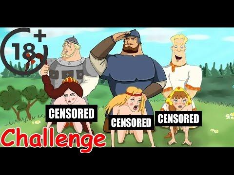 Порно мультфильм три богатыря видео