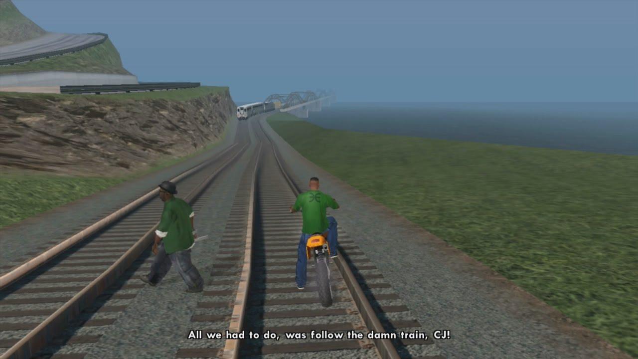 All You Had To Do Was Follow The Damn Train Cj Randomoverload