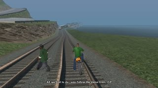 all we had to do was follow the damn train cj