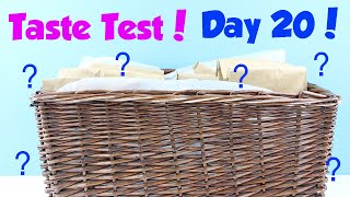 January Taste Test Challenge - Day 20 Hint - Don