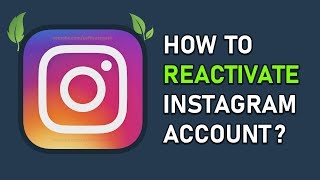 How to Reactivate Instagram Account 2019