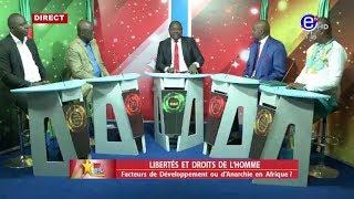 237 LE DEBAT(LIBERTÉS ET DROITS DE L'HOMME: Facteurs de développement ou d'anarchie en Afrique) ?