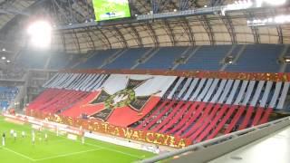 Oprawa meczu Lech Poznań - GKS Bełchatów 5:0 (05.10.2014)