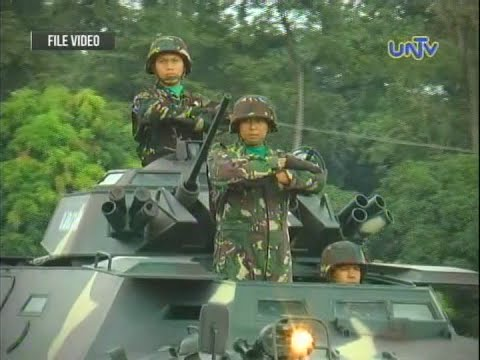 Philippine President on Department of National Defense
