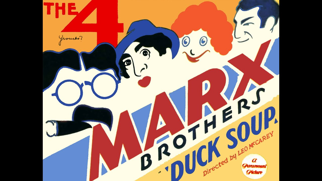 Download Duck Soup Marx Brothers - Review and Discusstion - The Cutting Room Movie Podcast