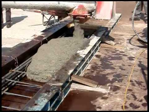 Steel Fiber Reinforced Concrete Casting