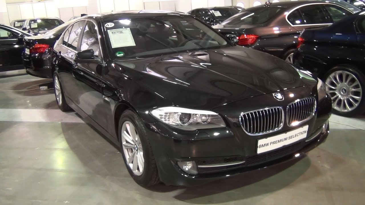bmw 530d xdrive sedan 2012 exterior and interior in 3d 4k uhd youtube. Black Bedroom Furniture Sets. Home Design Ideas