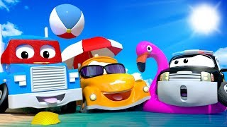 Car City on Holidays - SUMMER COMPILATION  - Summer Cartoons for children with Carl, Tom & cie !