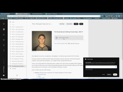 Heres how to embed code into Squarespace