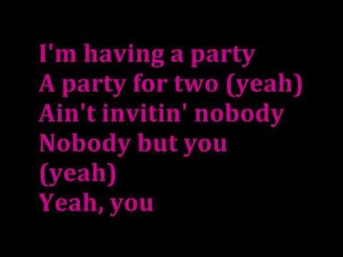 Im Having A Party For Two With Lyrics