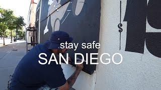 Америка после протестов! Граффити на стене в США!