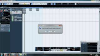 Cubase 5 - Extracting Midi from Audio with Vari Audio