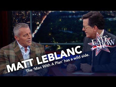 Matt LeBlanc Is Not Afraid To  on the Wild Side