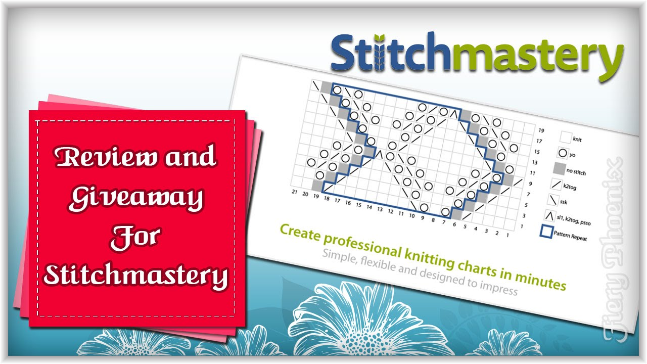 Stitchmastery Review and Giveaway :: by Babs at MyFieryPhoenix - YouTube