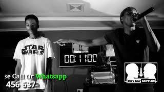 Freestyle Rap Battle- CRB S01E18 Toxic Fuvu Vs Stan Rhymes