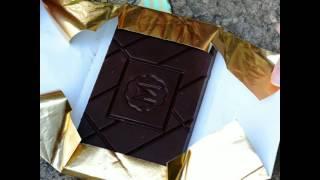 chocolate bar unfolding : Wallpaper* chocolate by Marou Faiseurs de Chocolat