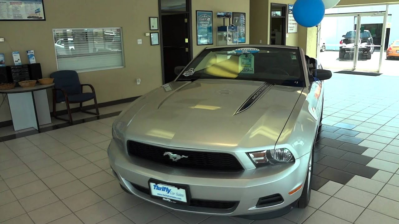 2011 Ford Mustang Convertible Video Presentation Thrifty