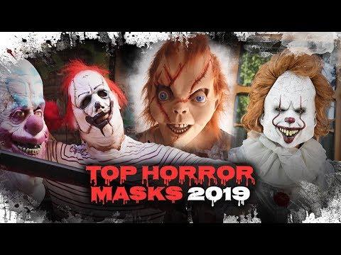 Mascaras Halloween Muy Realistas De Peliculas De Miedo Funidelia