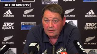 All Blacks named to take on Argentina