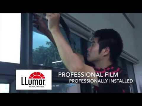 Window-Cool™ Singapore | Installation of LLumar Window Films