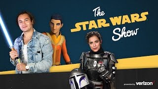 Taylor Gray, Mandalorian Mercs Armor Building, and Fan Halloween Costumes | The Star Wars Show