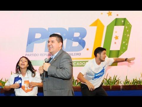 Lançamento do novo jingle do PRB na voz de Ronaldo Martins
