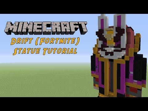 Minecraft Tutorial: Upgraded Drift (Fortnite Battle Royale) Statue