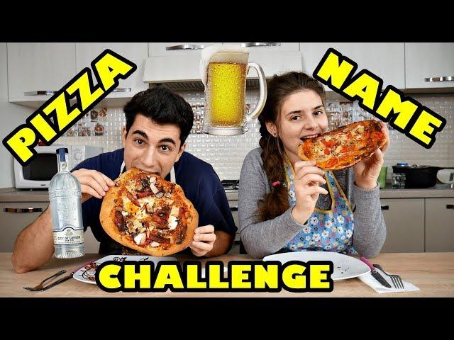 PIZZA NAME CHALLENGE - PIZZA EXTREMĂ CU ALCOOL ?