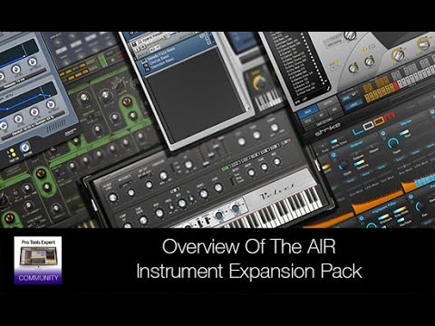 Overview - AIR Instrument Expansion Pack